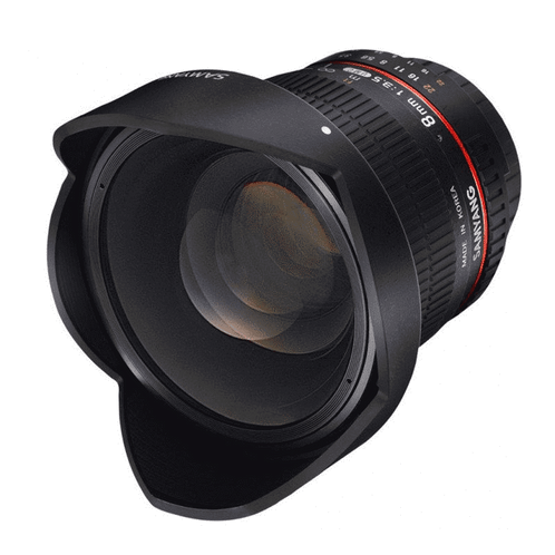 Objectif SAMYANG 8mm f3.5