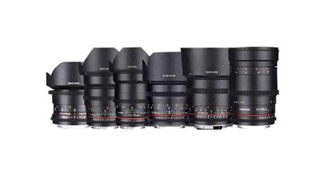 Série objectifs Samyang 7 optiques