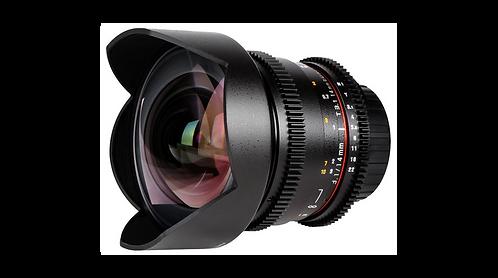 Objectif SAMYANG 14mm T3.1