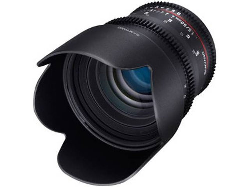 Objectif SAMYANG 50mm T1.5