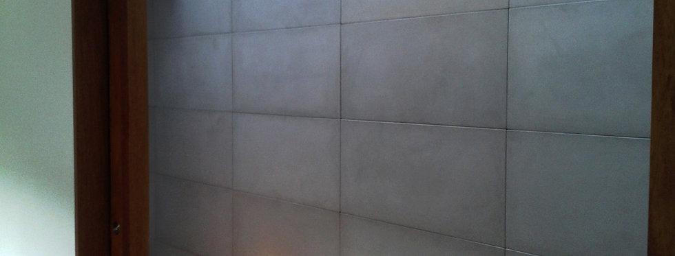 Placa de Concreto Lisa