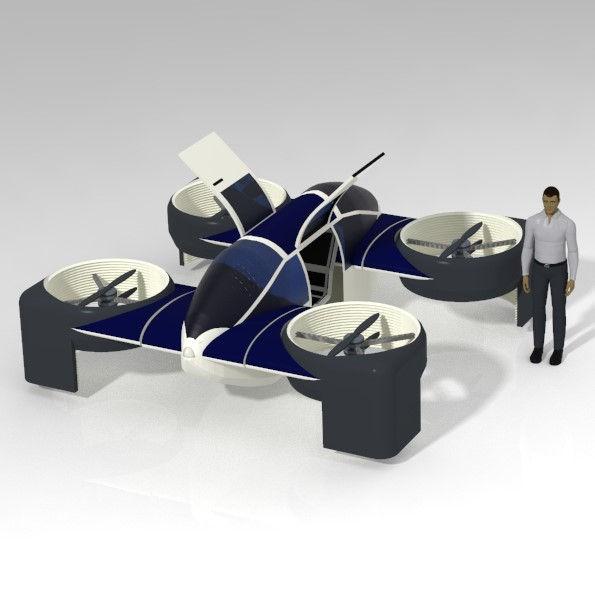 Lorenz Motors Drone Car 23 December 2020