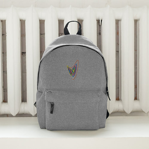 Classic Lorenz Embroidered Backpack