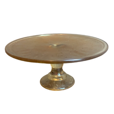 GOLD GLASS CAKE STAND
