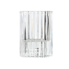 CLEAR RIBBED VOTIVE