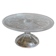 CLEAR CAKE STAND