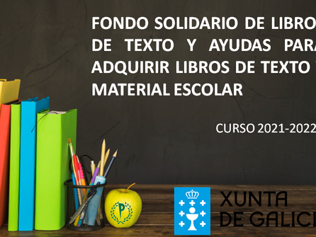FONDO SOLIDARIO DE LIBROS DE TEXTO Y AYUDAS PARA MATERIAL ESCOLAR