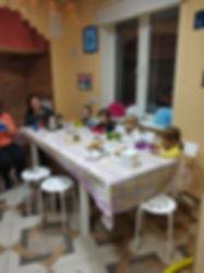 Чаепитие после Рождественской вечеринки
