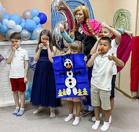 Анна и дети