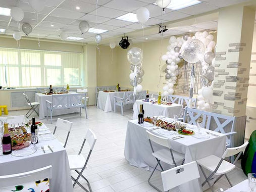 Арка из шаров на свадьбе