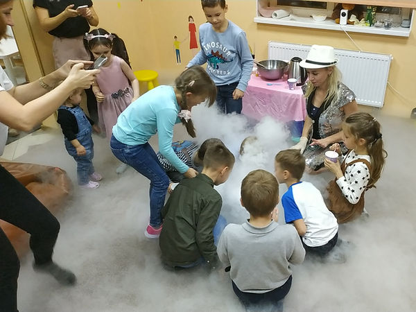 Крио-шоу в лофте на Кирова