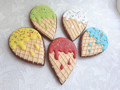 Роспись пряников мороженое