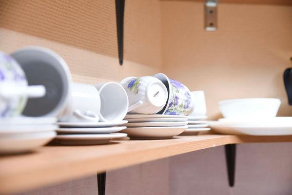 Посуда в лофте