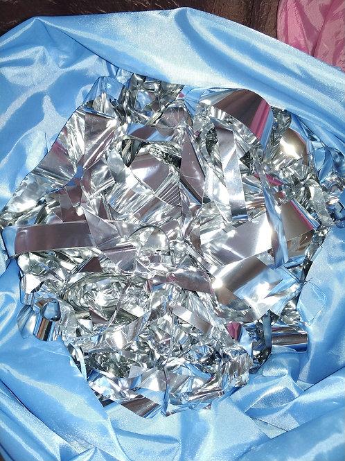 Серебряная бумага для шоу