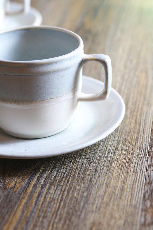 seafoam cup&saucer