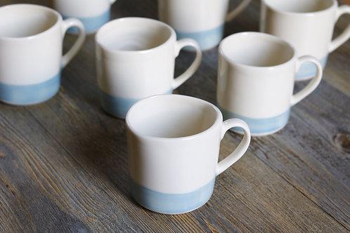 Capri blue mugs