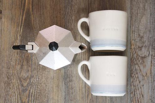 "Capri blue ""tea"" mug"