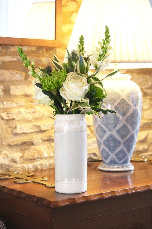 seafoam tall vase