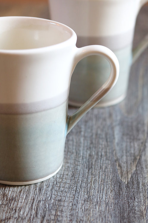 grey skies mug
