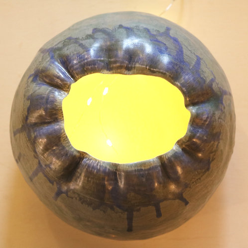waterfall globe lamp
