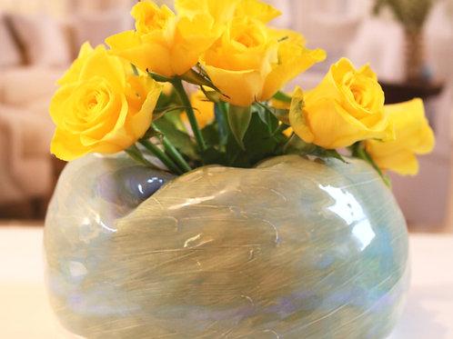 aqua seas globe vase
