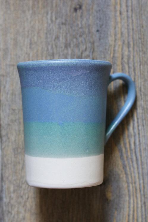 coastal blue tall mug