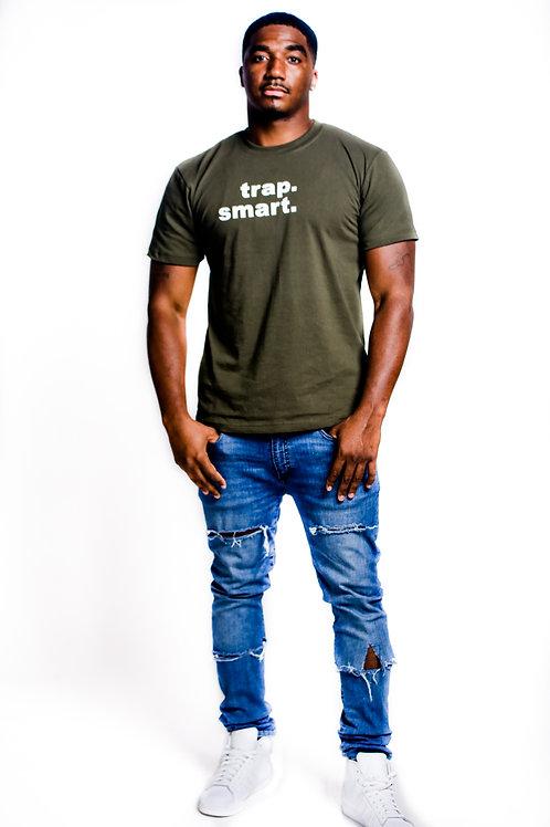 Green Signature Logo Men's T-Shirt