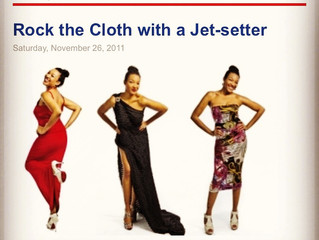 Rock the Cloth with a Jet Setter