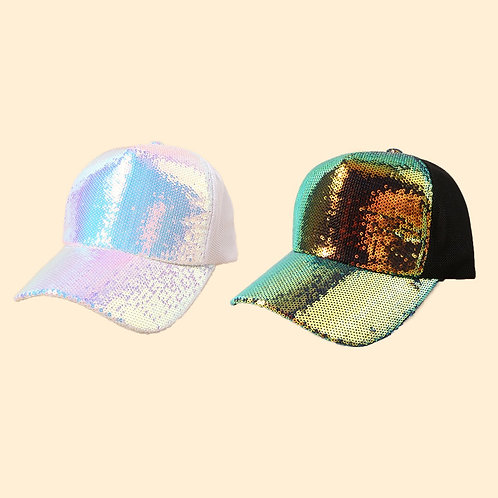 Sequin Snap Back Hat