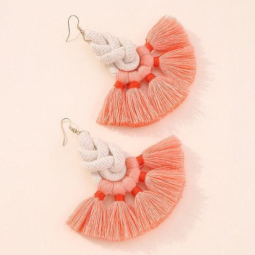Bohemian Rope Tassle Earrings