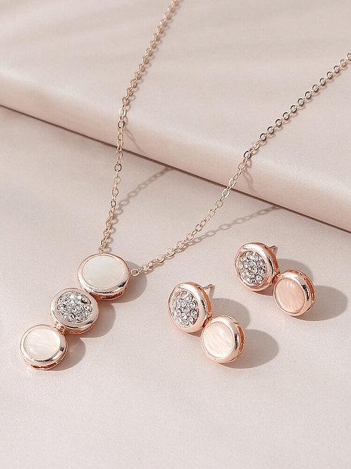 Glazed Jewelry Set