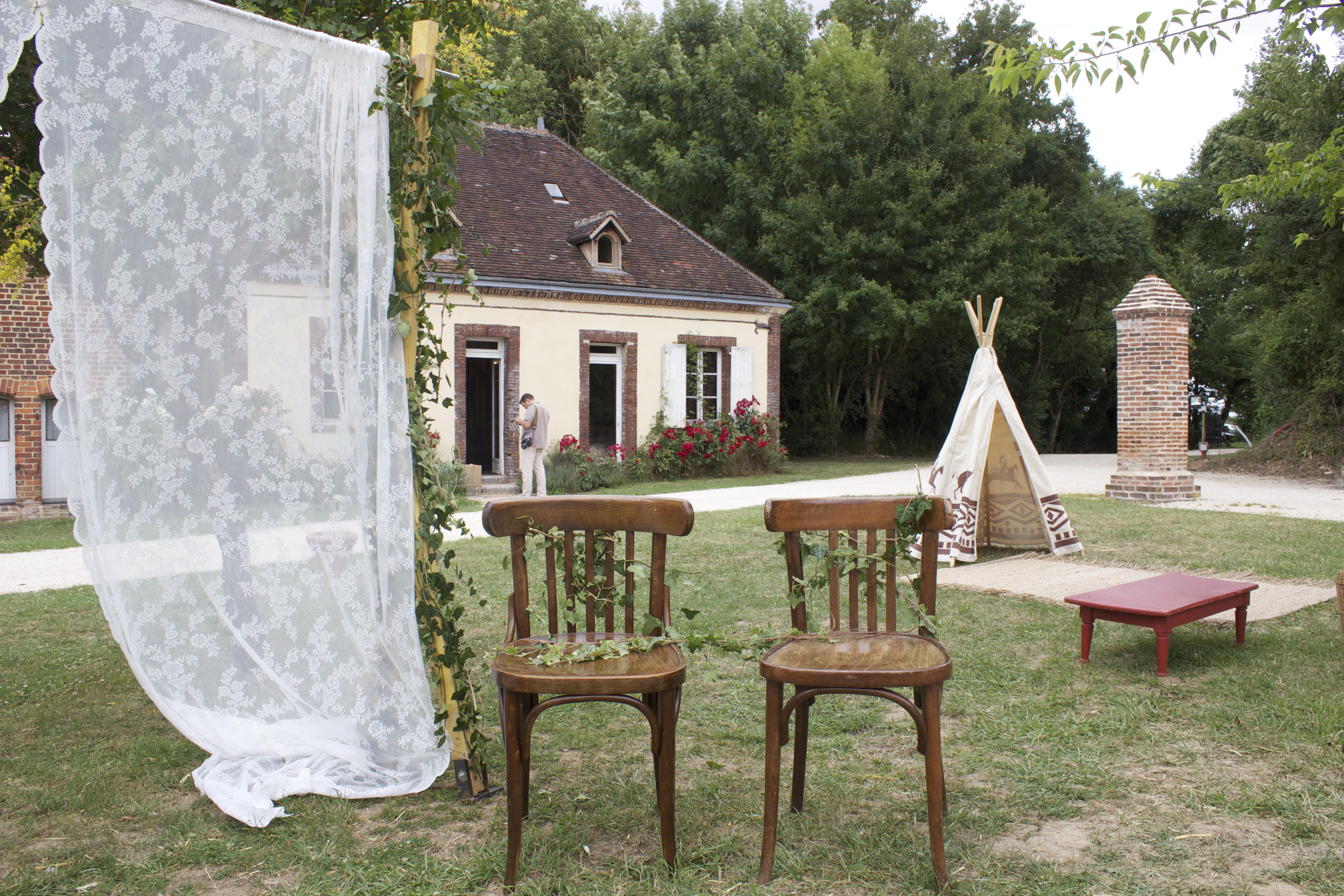 mariage Bohême chic