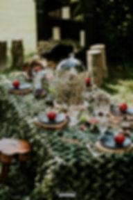 Décoration féerique sur le thème de la forêt enchantée