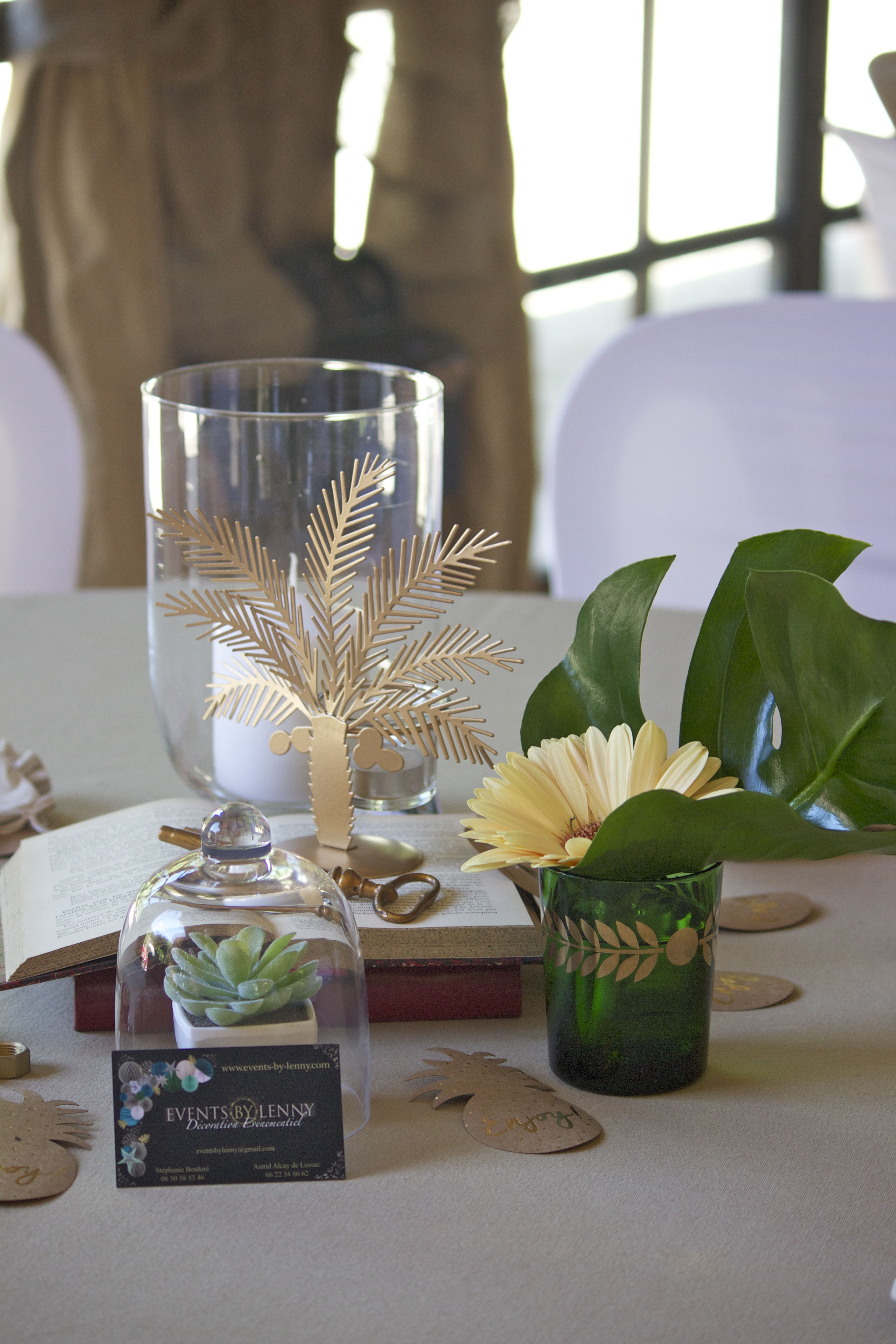 centre de table invités