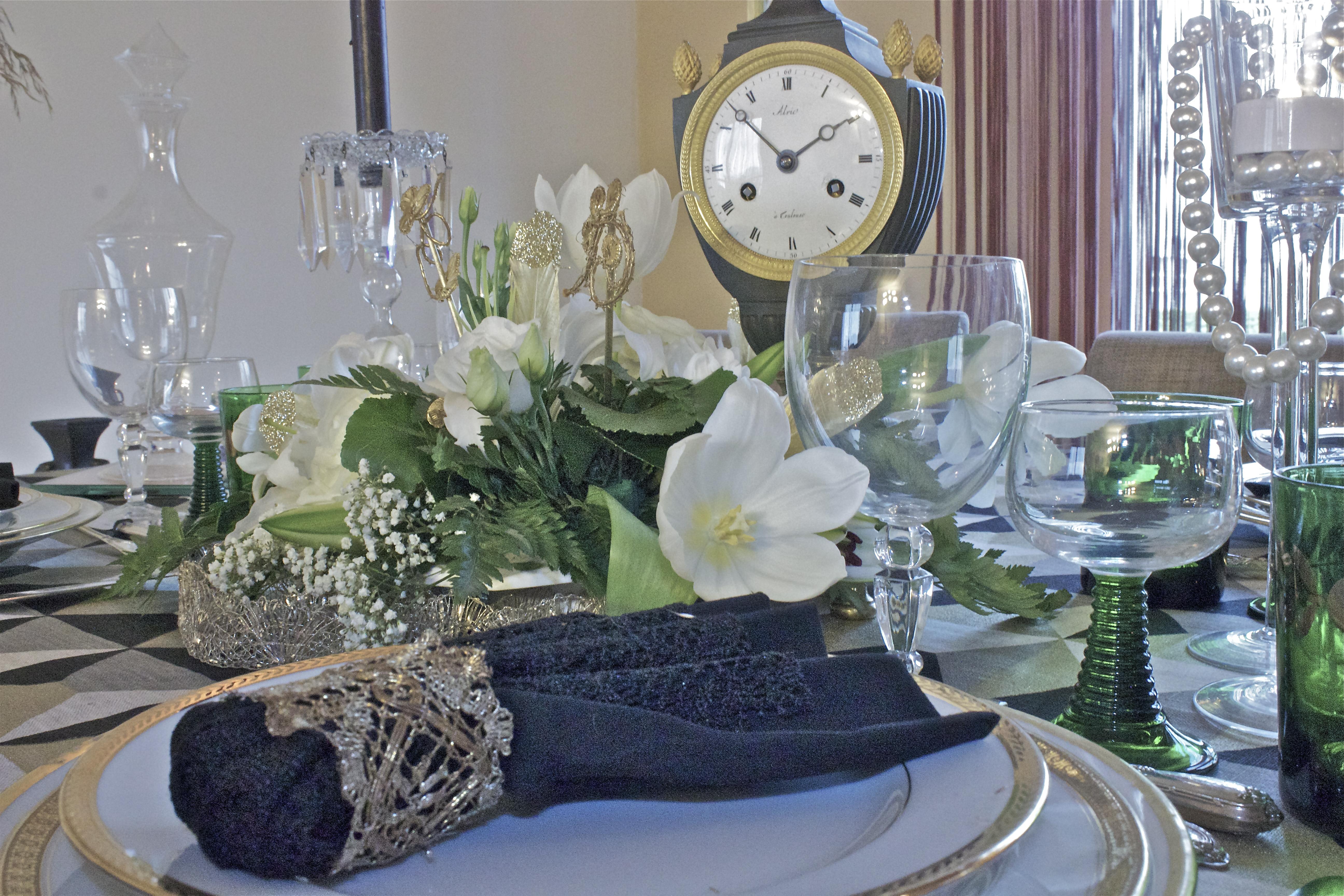 Table de mariage Art Déco