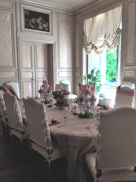 Décoration Mariage dans un château