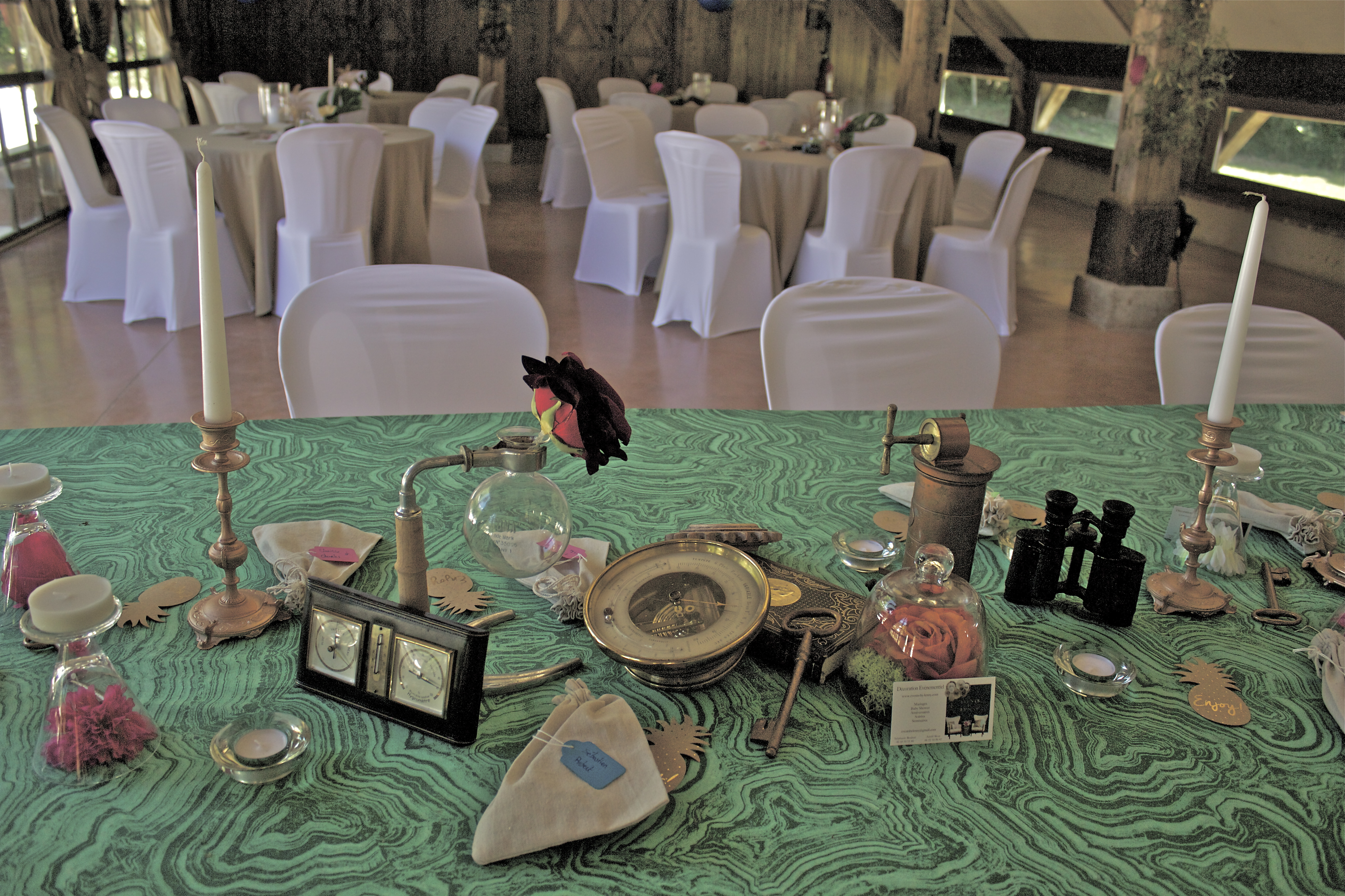 décoration steampunk