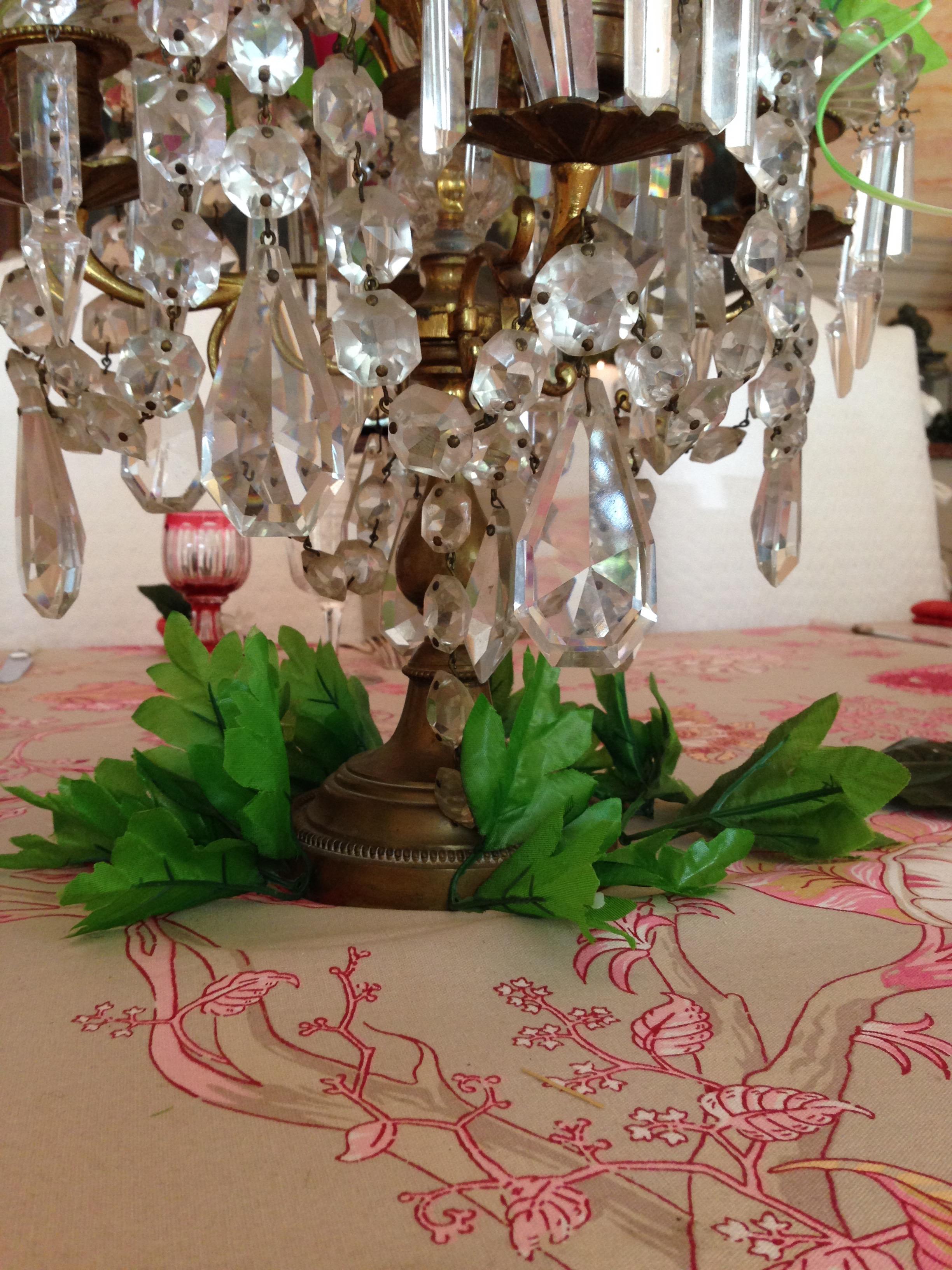Décor de table féerique