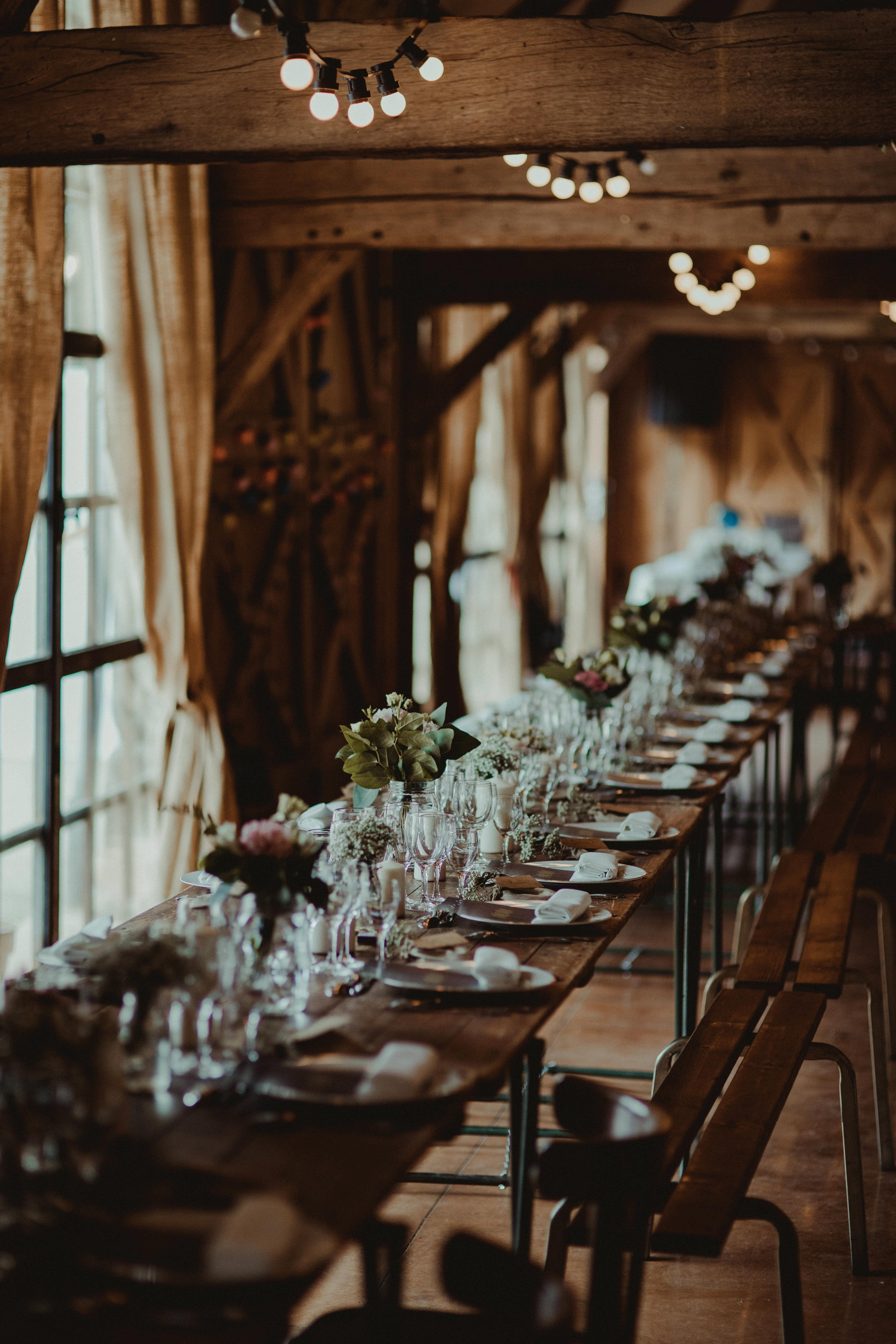 Banquet Bohême chic