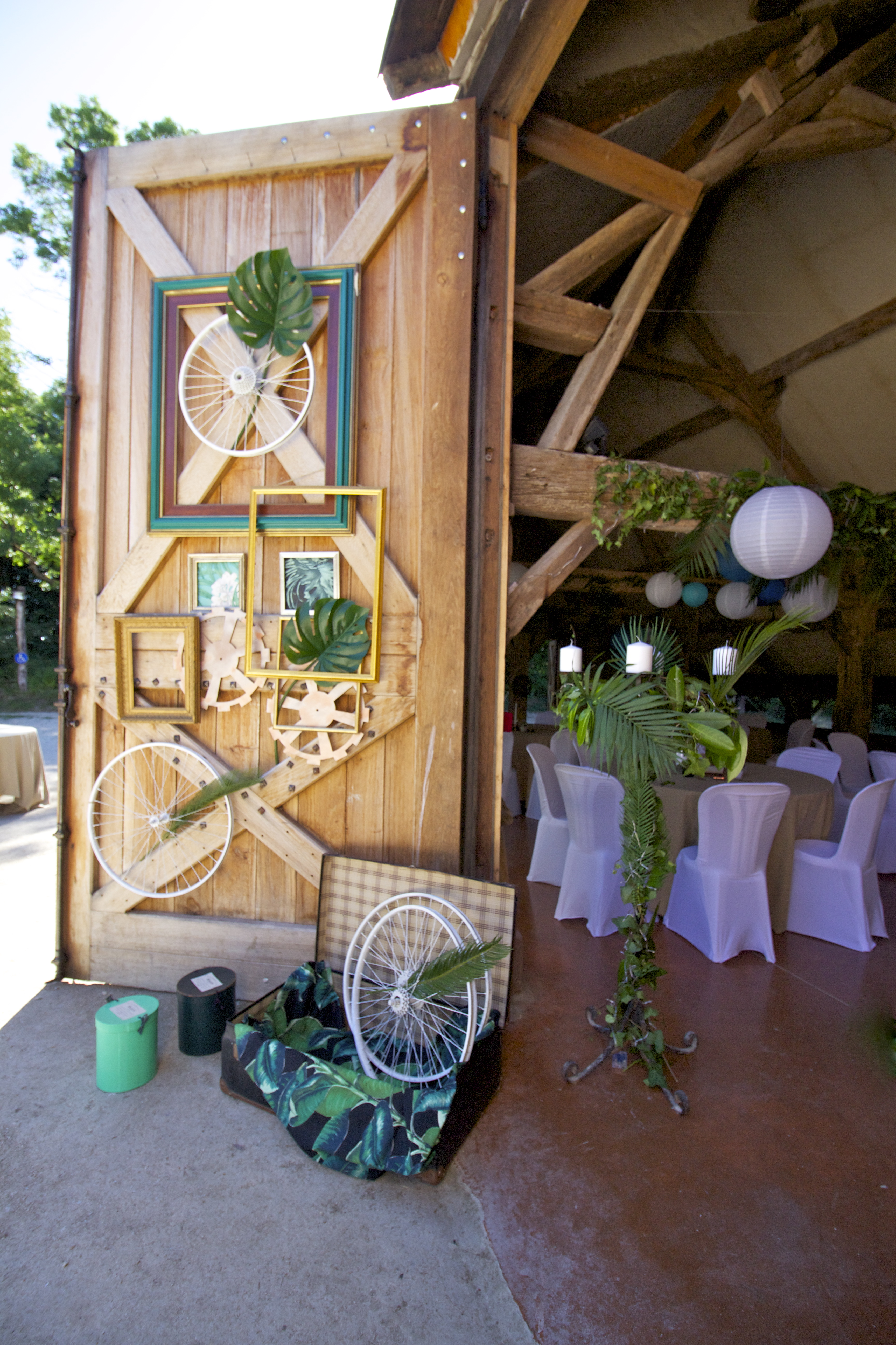 décoration de mariage exotique