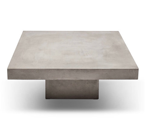 Modern Square Concrete Table Legs Harrislandinnovation