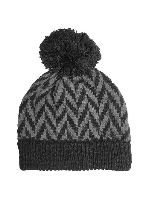 Montrose Hat in Charcoal