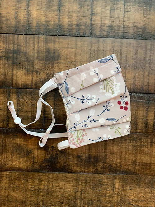 Reusable Face Mask in Floral