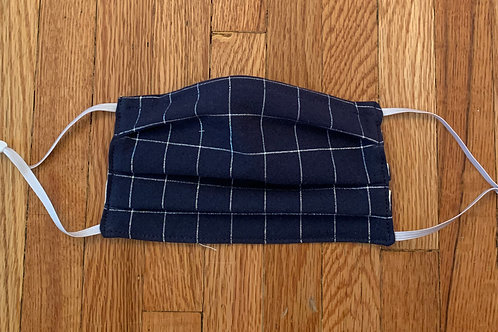 Reusable Face Mask in Plaid
