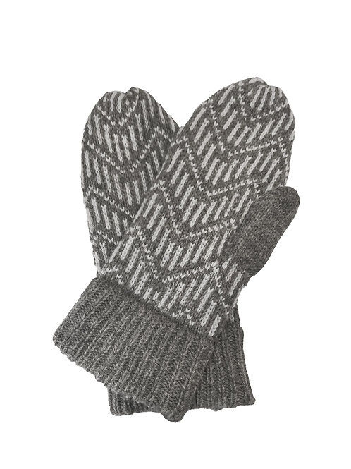 Pitkin Mittens in Ash