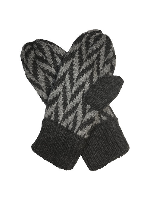 Montrose Mittens in Charcoal