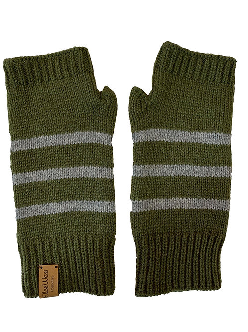 Moffat Mittens in Olive