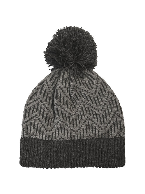 Pitkin Hat in Charcoal