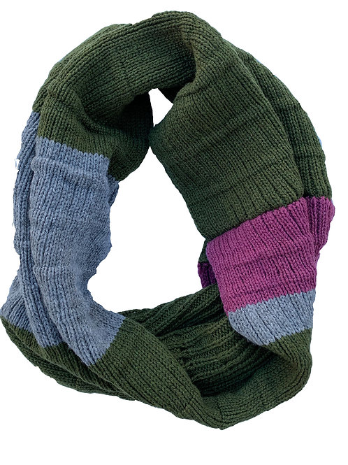 Crowley Scarf in Olive Berry