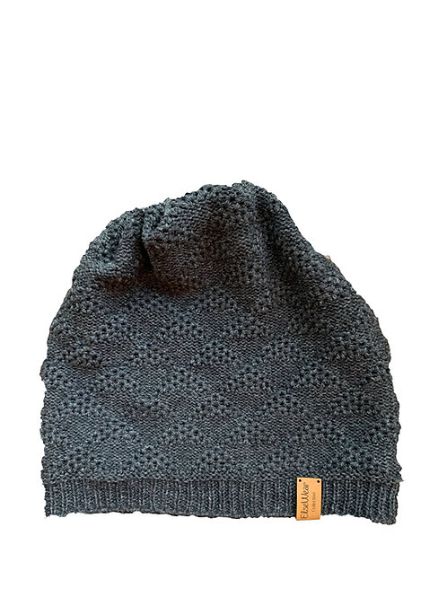 Routt Beanie in Charcoal
